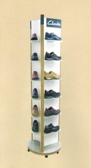 Rolling Shoe Stand
